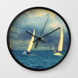 Chios Wall Clock