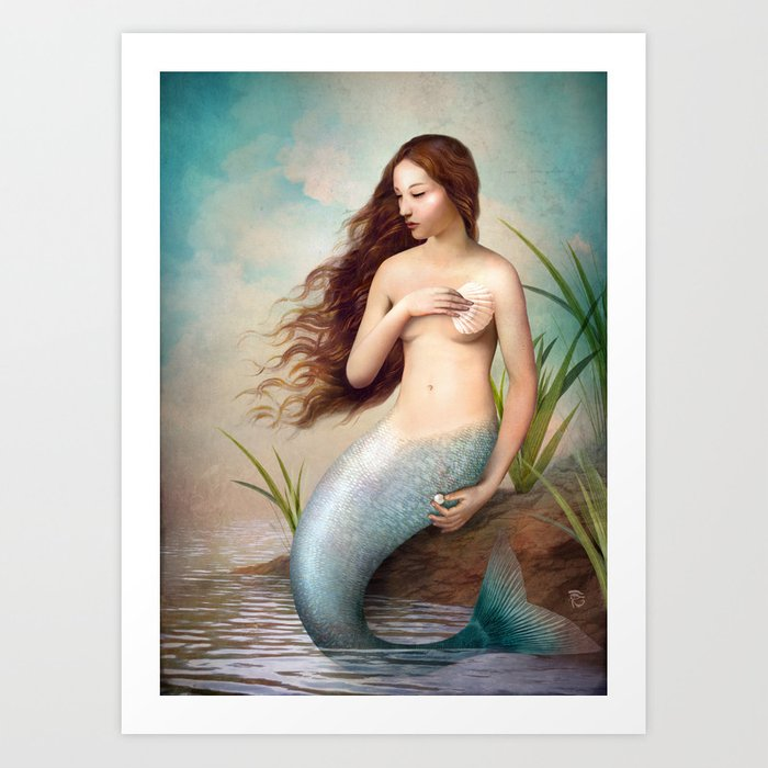 Discover the motif PEARL by Christian Schloe as a print at TOPPOSTER