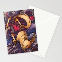 Lighting Mouse Stationery Cards