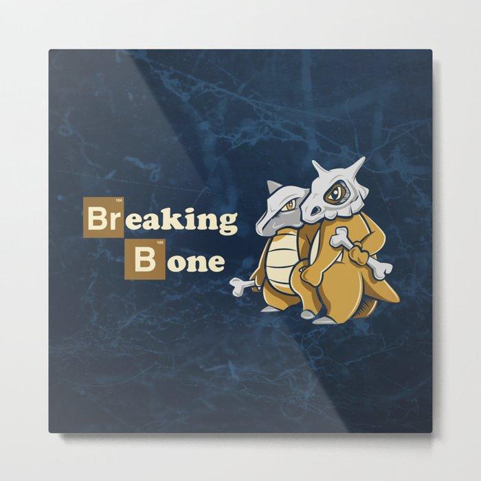 Breaking Bone Metal Print