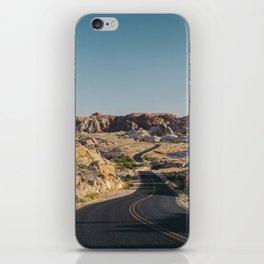 Windy Desert Road iPhone Skin