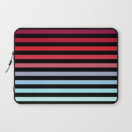 Rainbow Stripes #5 Laptop Sleeve