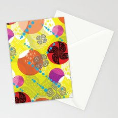 Windmill Circles Stationery Cards