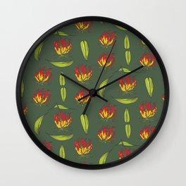 Gloriosa Wall Clock