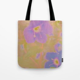 Georgia Blue, The Earth Laughs In Flowers Tote Bag