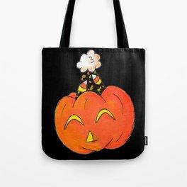 Party Pumpkin Tote Bag
