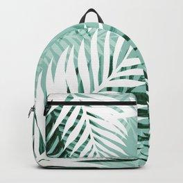 Tropical bliss - jungle green Backpack
