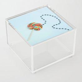 Treasure map Acrylic Box