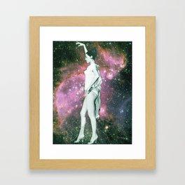 Still dancing Framed Art Print