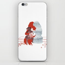 mother and daughters iPhone Skin