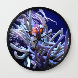 Clown Fish Anemone Wall Clock