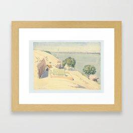 Caminos' Camp at Gebel el-Silsila, 1959 Framed Art Print