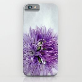 chives bloom iPhone Case