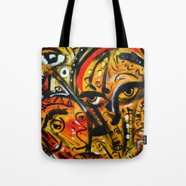 The third eye expressionist art Tote Bag