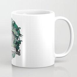 Slytherin Color Crest Coffee Mug