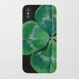 Shamrock iPhone Case