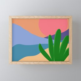 Scape Framed Mini Art Print