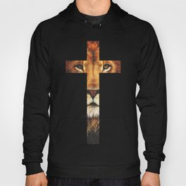 Christian Cross - The Lion of Judah Hoody