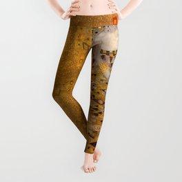 Bloch Bauer by Gustav Klimt Leggings