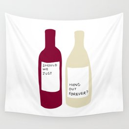 Love wine Wall Tapestry