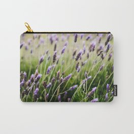 Island Lavender Carry-All Pouch