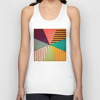 umbrella Tank Tops featuring Umbrella by Louise Machado