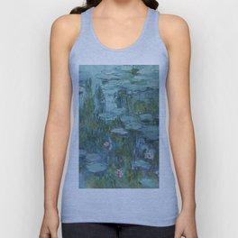 Monet, Water Lilies, Nympheas, Seerosen, 1915 Unisex Tank Top