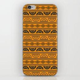 Mud cloth geometry iPhone Skin