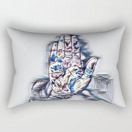 Hide Me Rectangular Pillow
