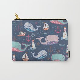 Whale Toss Carry-All Pouch
