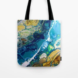 Where the Rivers Flow Tote Bag