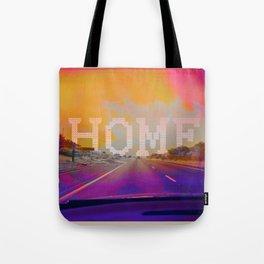 On the road HOME II Tote Bag