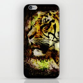 Wild Tiger Artwork iPhone Skin