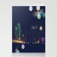 dallas Stationery Cards featuring Dallas, TX by missdolly
