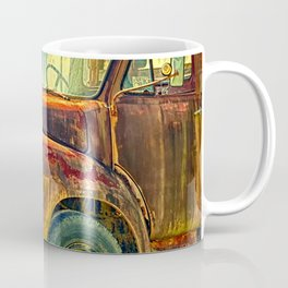 Old Rusty Bedford Truck Coffee Mug