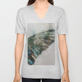 An angel lost its wing Unisex V-Neck