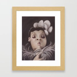 Lady Day Framed Art Print