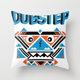 Post African. Throw Pillow