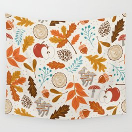 Autumn Woods Wall Tapestry