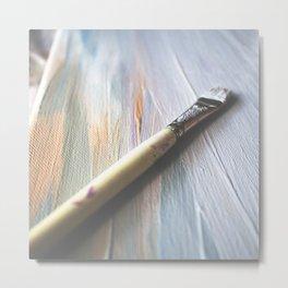 Paintbrush Metal Print