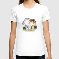 elephants T-shirts featuring Elephants by Corner HL