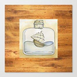 Schooner Canvas Print
