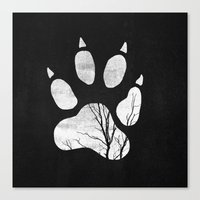 into the wild Canvas Prints featuring Wild by Elisabeth Fredriksson