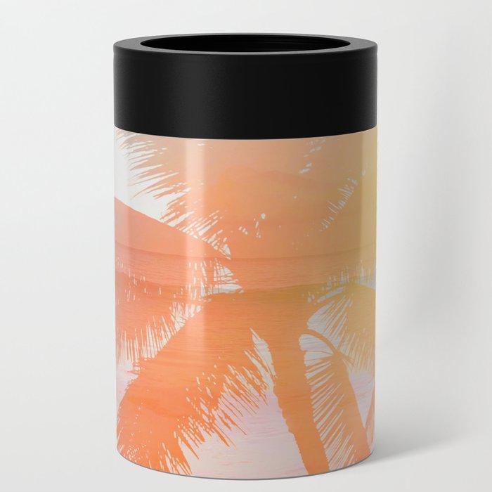 Tropicana seas - sundown Can Cooler