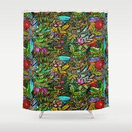 Colorful Bush Shower Curtain