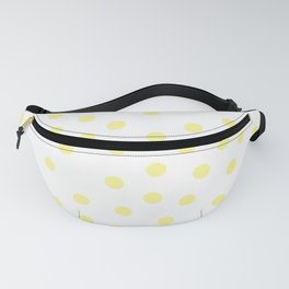 Simply Dots in Pastel Yellow Fanny Pack