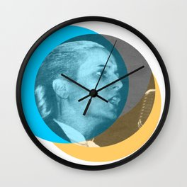 Eva Perón - Shouts of Glory Wall Clock
