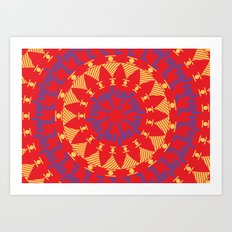 Arabian Tribal Art Print