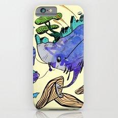 explore (blue) iPhone 6s Slim Case