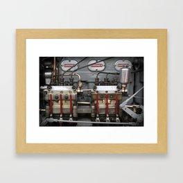 Tasty Diesel Framed Art Print